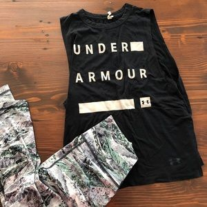 UnderArmour muscle tee